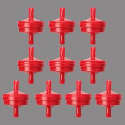 """10pc 1/4"""" Lawn Mower Inline Fuel Filter For BS 298090 298090"""