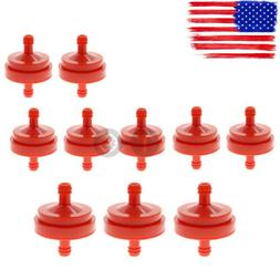10PCS Gas Fuel Filter Lawn Mower Inline For Briggs Stratton