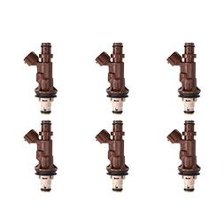 Catinbow 2325062040 6PCS Engine Fuel Injector Set for 1995-2