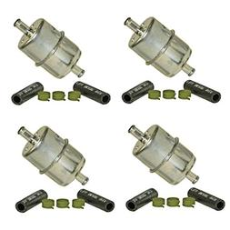 Wix 33033  In-line Fuel Filter, Pack of 4