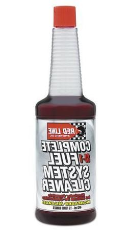Red Line 60103-4PK Complete SI-1 Fuel System Cleaner - 15 Ou