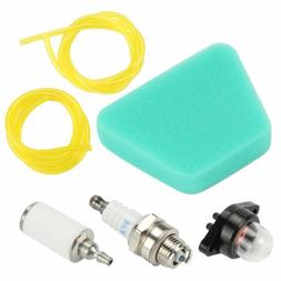 Air Filter Fuel Line & filter Kit with Primer Bulb F Poulan