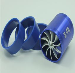 Car Supercharger Turbine Turbo Charger Air Filter Intake Fan