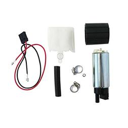 MUCO New 255LPH High Flow Intank Electric Fuel Pump with Str
