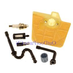 New Air Filter Oil Fuel Line Filter kit for STIHL 036 MS340