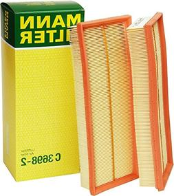 Mann Filter C 3698/3-2 Air Filter Element,