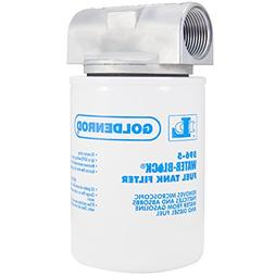 """GOLDENROD  Canister Water-Block Fuel Tank Filter with 1"""" NPT"""