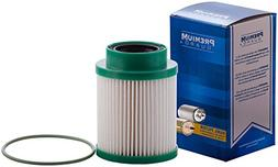 Premium Guard DF99200 Diesel Fuel Filter | Fits 2018-2017 Ni