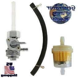 Female Nut Petcock Fuel Filter & Line for Honda SL350 CL350