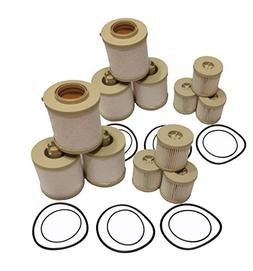 Ford 6.0L 2003-2007 FD-4604 Diesel Fuel Filter 6 Pack includ