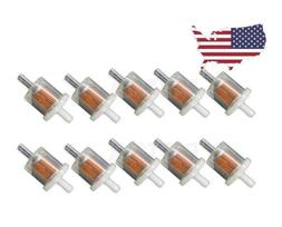 "Fuel Filter For Small Engines Gas 5/16"" 3"" Long 10 pack Ten"