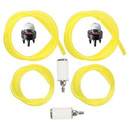 Milttor Fuel Lines with Fuel Filter & Primer Bulb for Tygon