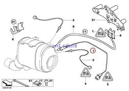 BMW Genuine Catalytic Converter/Front Silencer Fuel Injectio