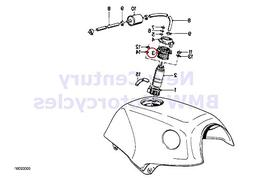 BMW Genuine Motorcycle Fuel Pump/Fuel Filter Vibration Dampe