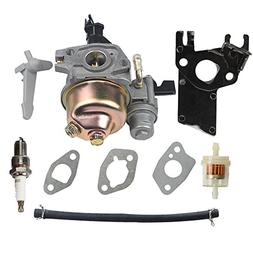 HIPA GX 160 Carburetor + Fuel Filter Spark Plug for HONDA GX