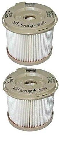 RACOR 2010SM 2010 AQUABLOC II FUEL FILTER QTY 12 IN 2 MICRON