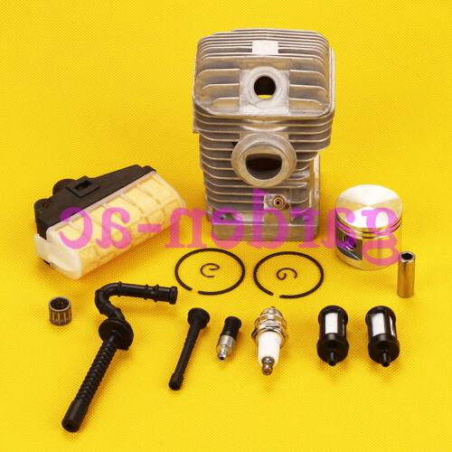40mm Cylinder Piston Air Filter Fuel Oil Line kit For Stihl