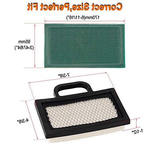 HIFROM 499486 499486S Filter with 273638 Pre Filter 493629 Filter Spark Kit 18-26