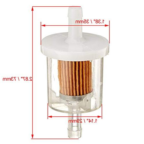 HIFROM Filter 273638 Pre Filter 493629 Fuel Filter Spark Plug Tune-Up for Stratton 18-26