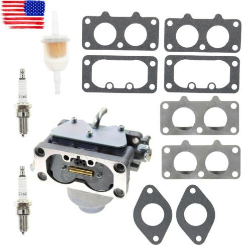 Carburetor Set for Briggs & Stratton V-Twin 20HP 21HP 22HP 2