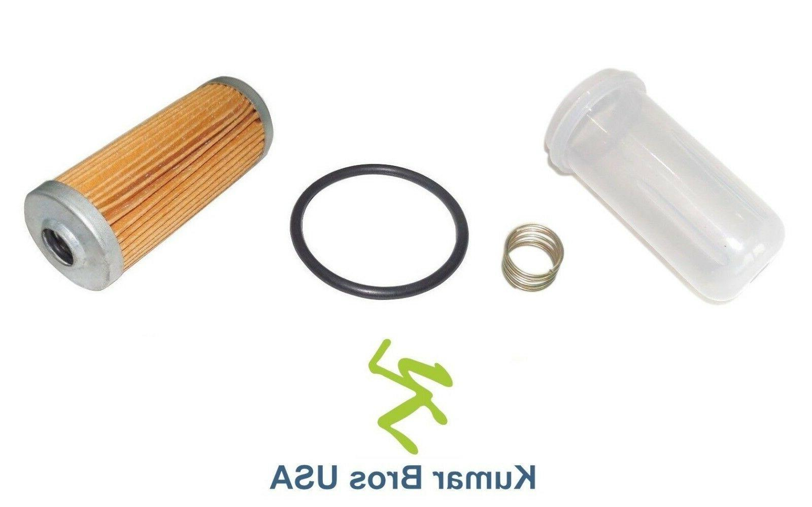 New Yanmar Excavator Fuel Filter/BOWL/Spring VIO27-2 VIO30 V