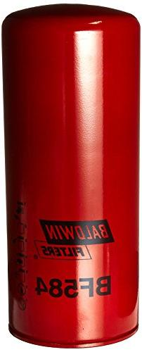 Baldwin BF584 Heavy Duty Diesel Fuel Spin-On Filter
