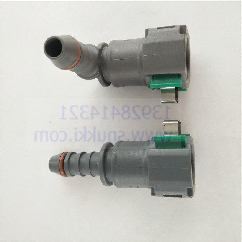 D8mm-ID6 quick connector female connector gasoline for Peugeot two pcs a lot