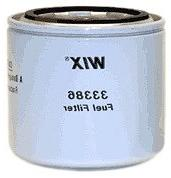 WIX Filters - 33386 Heavy Duty Spin-On Fuel Filter, Pack of