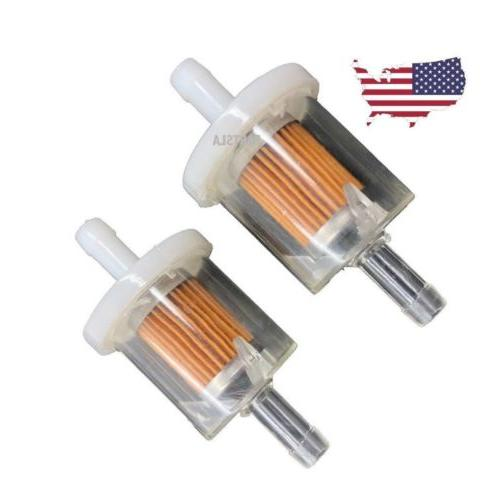 X2 Fuel Filter for Lawnmower Small Engine Kawasaki Briggs 5/