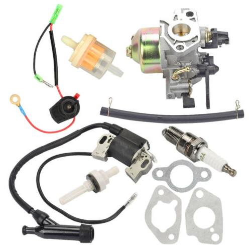 For Honda GX240 8HP Engines Carburetor Ignition Coil Spark P