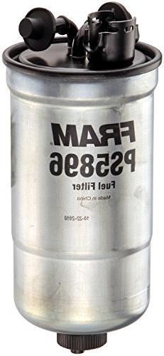 FRAM PS5896 Inline Fuel/Water Separator Canister Filter with