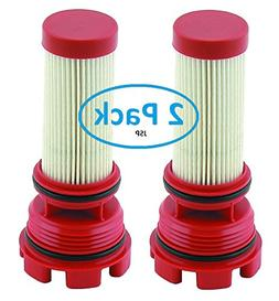 Mercury Verado Optimax 2 Pack Red Fuel Filter Replaces Mercu