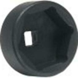 Low Profile Socket, 32mm, 6 Point, For Cap Style Oil Filters