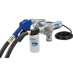 GPI Transfer Pump with Filter and High-Flow Auto Nozzle- 12V