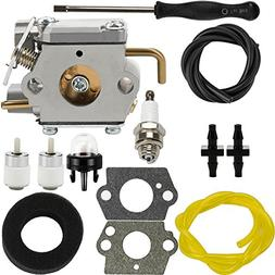 Dalom WT-827 Carburetor w Air Filter Fuel Line for Troy-Bilt