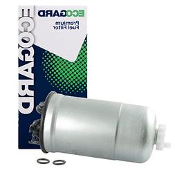 ECOGARD XF65428 Diesel Fuel Filter - Premium Replacement Fit